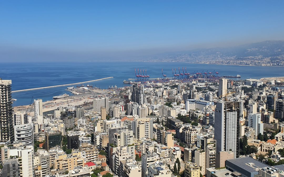 Beirut View of City