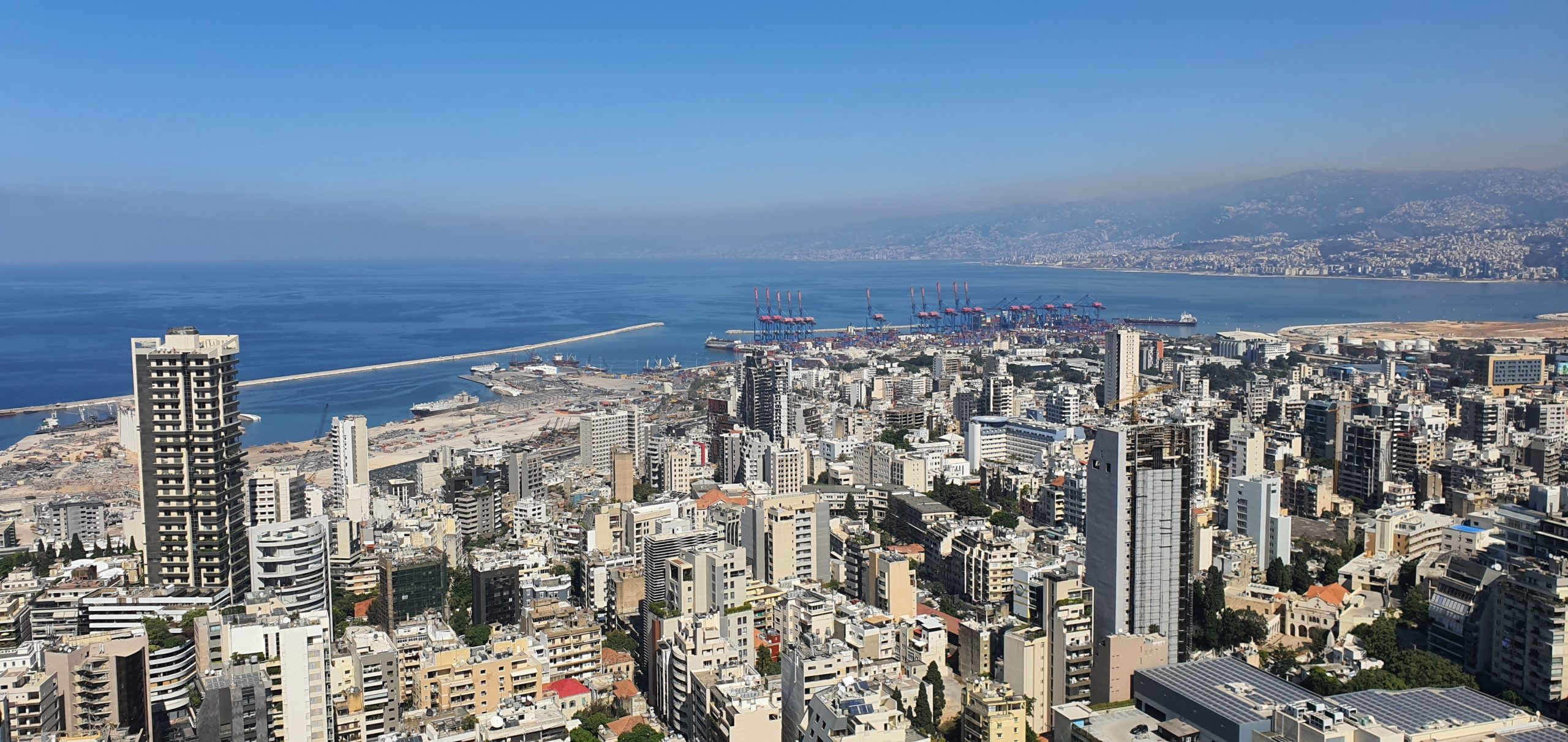 View of Beirut October 2020