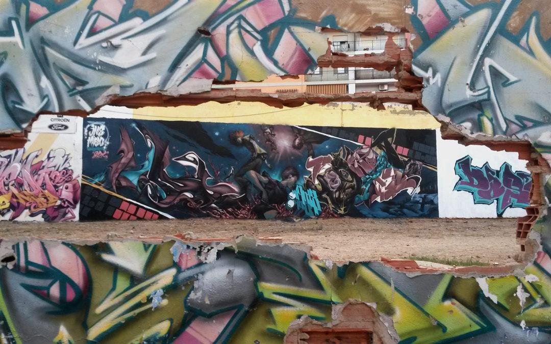example of graffiti mural