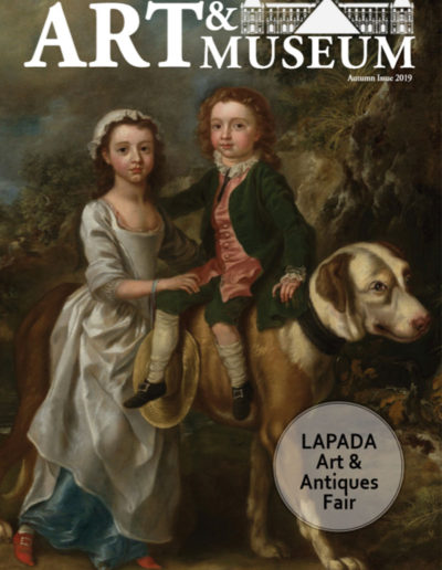 Art & Museum Magazine Autumn 2019 cover