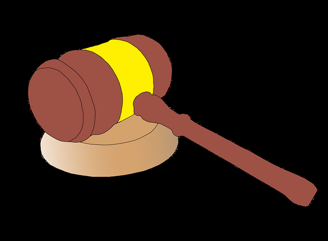 graphic of auctioneers gavel
