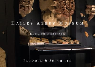 Hailes Abbey Museum, English Heritage